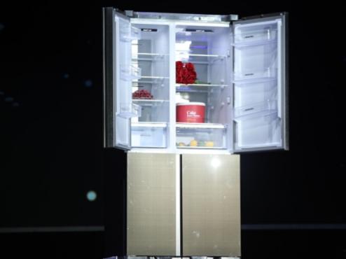 解放双手 长虹发布用语音开关门智能冰箱