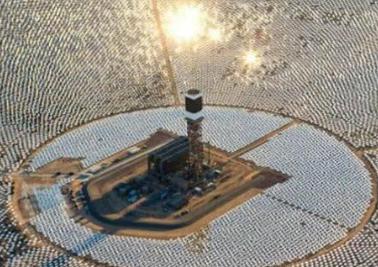 世界最大太阳能发电站,飞过的鸟儿被烤焦