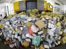 双11后快递废箱成环保隐患 回收站增两倍
