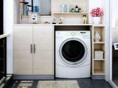 为什么外国人喜欢把洗衣机放在厨房?