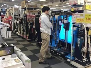 日本手持吸尘器遭游客扫空 堪比智能马桶盖热潮