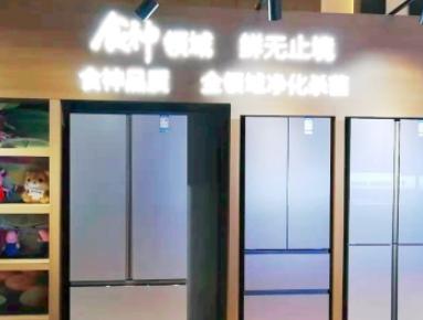 """海信首创对开终结者冰箱 """"食神""""新品领鲜行业"""