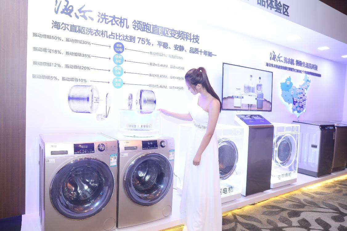"""海尔""""直驱革命""""加速 洗衣机TOP10中8席是海尔直驱"""
