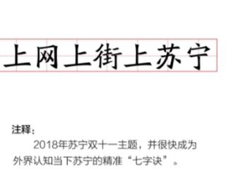 苏宁2018流行语榜单 智慧零售成关键词