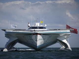 全球最大的太阳能船,完成了5万公里的环球航行