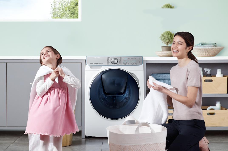 """抢购好礼 三星洗衣机为家人带去更多""""洗""""悦"""