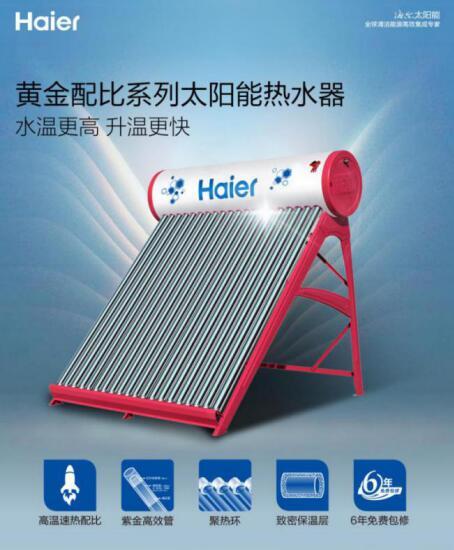 【太阳能-产品-1月】0元安装+6年包修,海尔太阳能热水器i7系列成电商爆款final201901041309