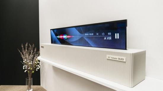 LG可折叠电视