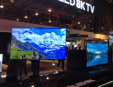 CES观察:厂商纷纷展出产品,8K电视春天到了?