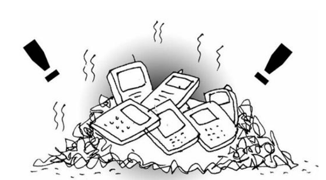 中国每年废弃手机近8000万部,造成极大污染!