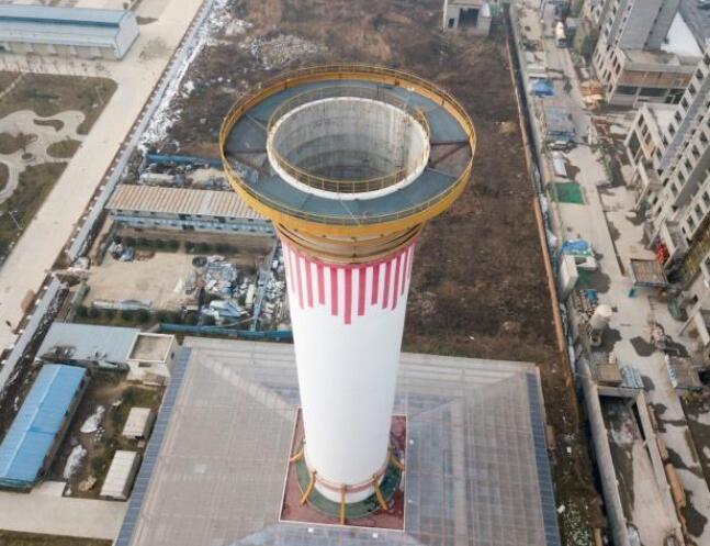 世界上最大的空气净化器正在西安测试!
