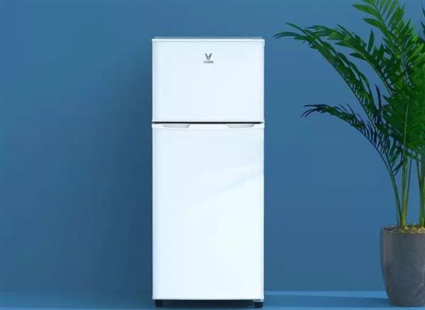 699元!云米118L双门冰箱发布:特省电