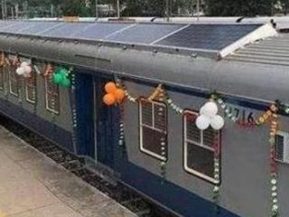 印度发明太阳能火车,车票仅需1元钱