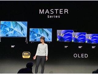 索尼全新MASTER系列OLED电视A9G有多高端