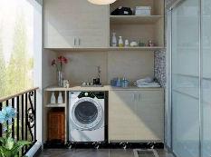 洗衣机应该摆放在哪里,其实这样摆最好