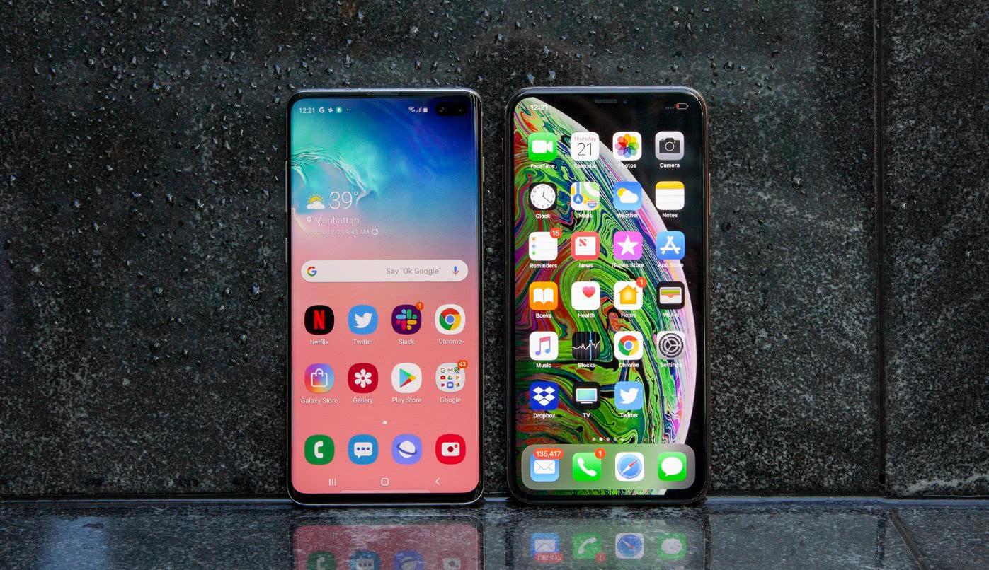 """硬碰硬丨""""难兄难弟""""三星S10遇上iPhone XS谁更香?"""