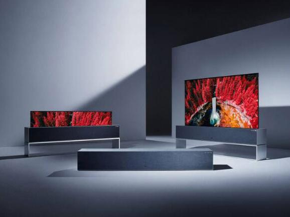 LG电子将推出卷轴电视