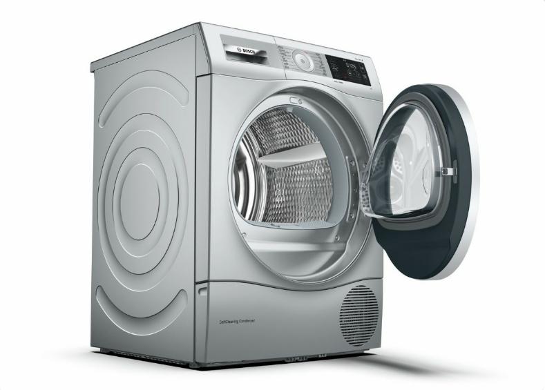 一键干衣护衣不伤衣 博世贴心滚筒洗衣机亮相AWE