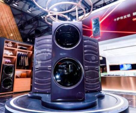 奢侈品家电:卡萨帝AWE发布限量版融合纤洗护理机