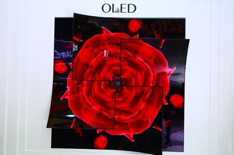 玫瑰造型OLED屏幕