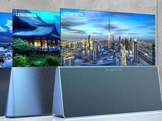 """LG新专利获批:三种""""易拉宝""""类型电视设计"""