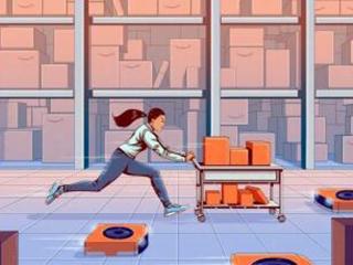 在亚马逊做仓库工人,是一种什么样的体验?