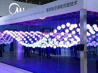 美的無風感空調新品柜機亮相AWE,跨界技術驚艷全場