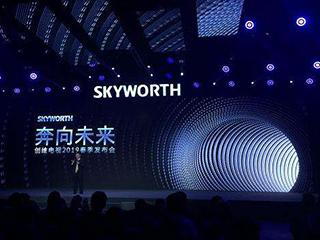 创维推出全球首个大屏AIoT生态 Q80系列电视亮相