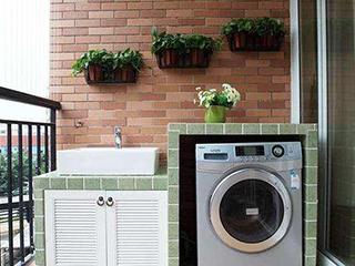 阳台是否应设计洗衣机柜?
