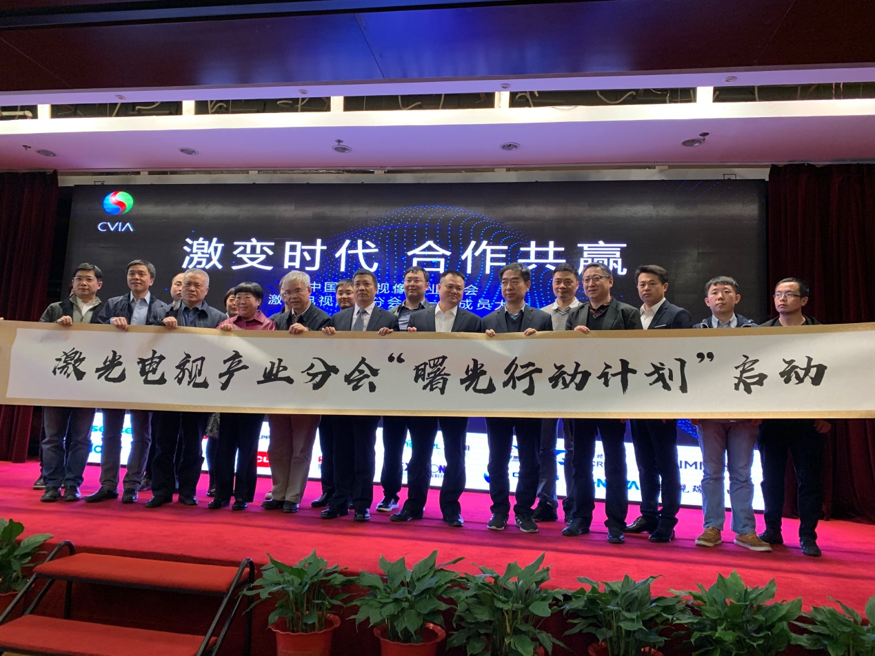 """视像行业协会携手海信构建中国激光电视""""命运共同体"""""""