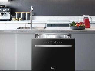嵌入式洗碗机与其他种类的区别,了解一下!