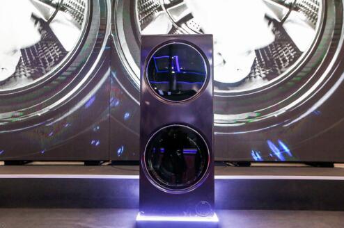 卡萨帝作为国际高端家电品牌展出了全产业线高端产品
