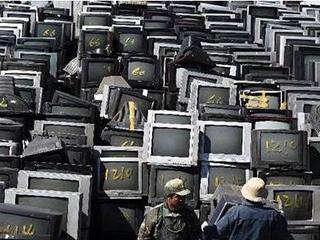 """废旧家电""""互联网+上门回收""""模式悄然兴起"""