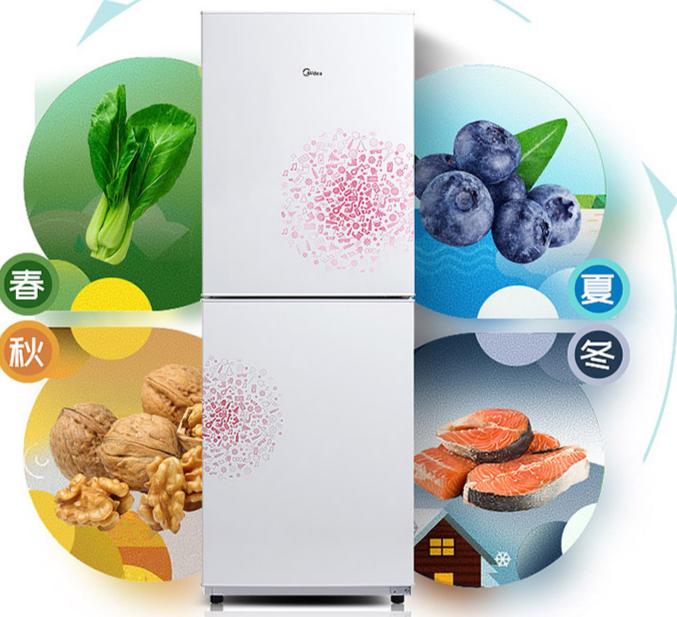 美的BCD—169CM(E)冰箱:小身板也有大容量