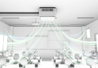 英维克发布宝纯空气环境机,教室环控设备进入一机多模时代