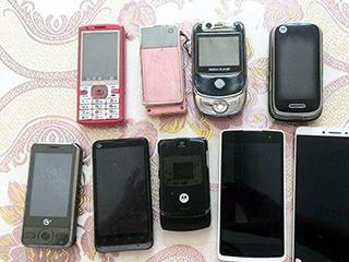 你家里有多少退休手机?