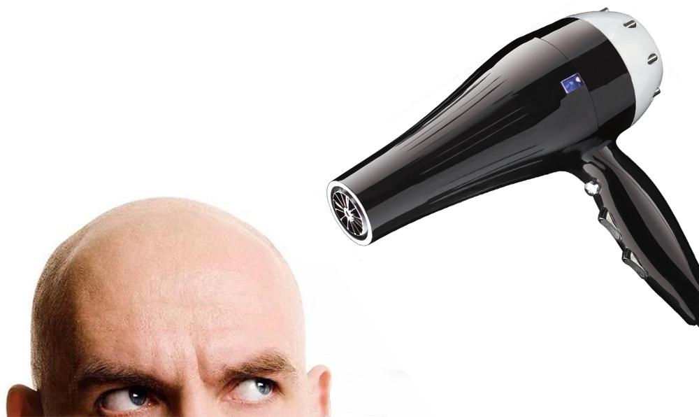 你到了脱发的年龄 那吹风机还有何用呢?