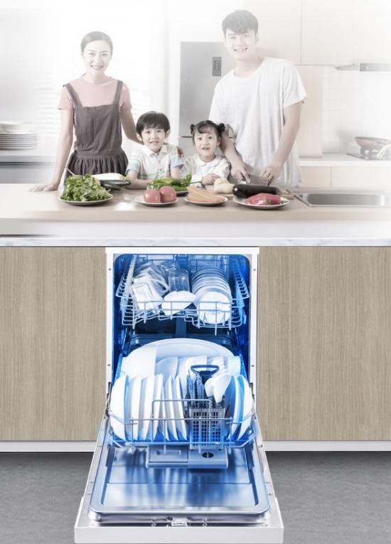 格兰仕嵌入式洗碗机