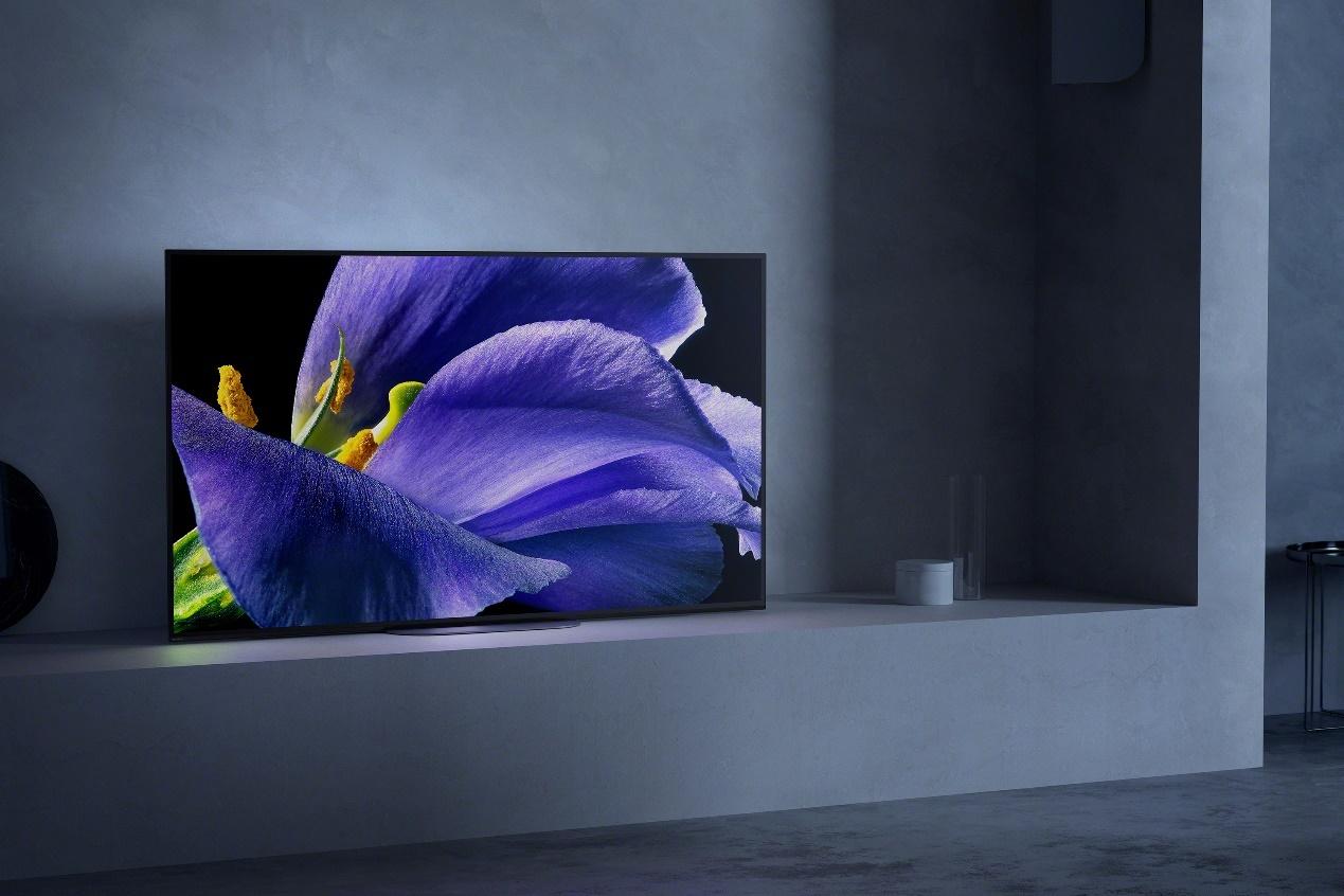 索尼画谛?系列旗舰A9G OLED电视重磅上市