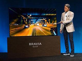索尼公布新款OLED电视中国价格:14999元起