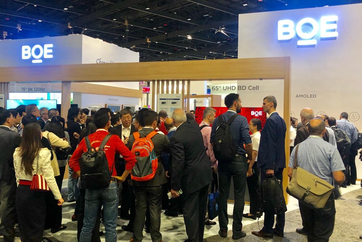 SID2019:BOE(京东方)创新显示技术带你感受前沿科技魅力