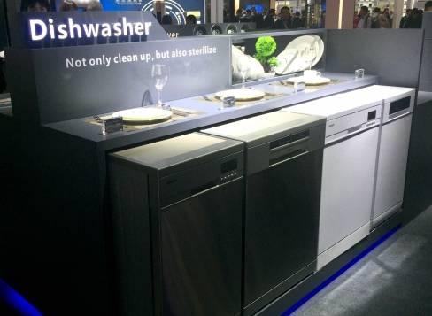 一季度报告下洗碗机的崛起,智能和健康成主要趋势