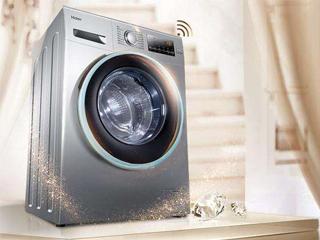 海尔洗衣机反向推门360°见证质量可靠
