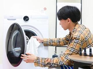 感应洗、AI智能语音控制:Leader推智慧洗衣解决方案