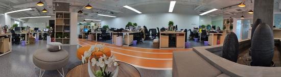 办公室全景拍