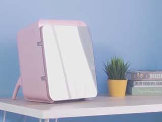 提升夏日幸福感,化妆品冰箱给你灵感