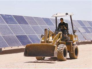 """中国技术助力埃及建设""""太阳能村"""""""
