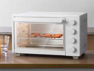 米家电烤箱来了:32L容积 上下层独立控温