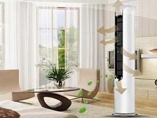 客厅都放柜式空调?不如试试新型设计