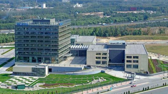 北电中国区总部大楼,望京,北京,2006年